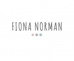 logo for fiona norman photography
