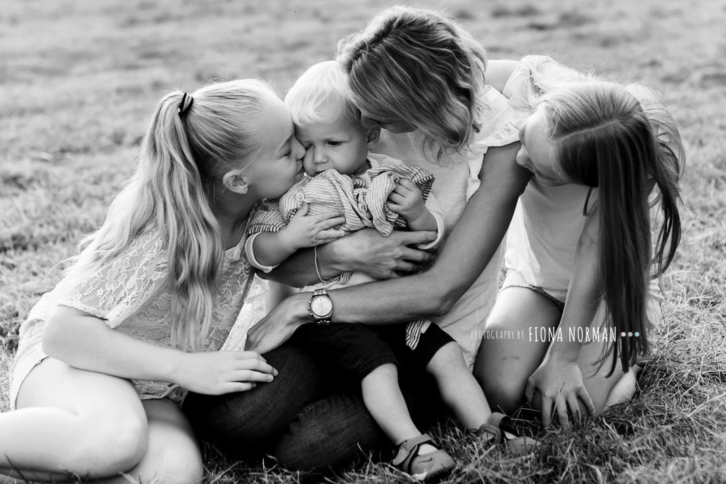 family cuddle