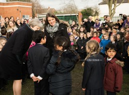 Maidenhead school with prime minister