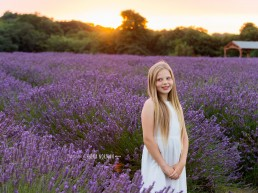 girl in lavender fields
