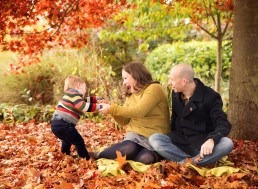 family-in-leaves