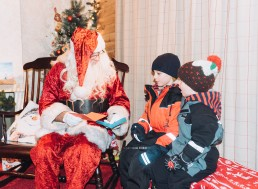Father Christmas at Lapland