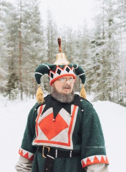 One of the elves at Lapland